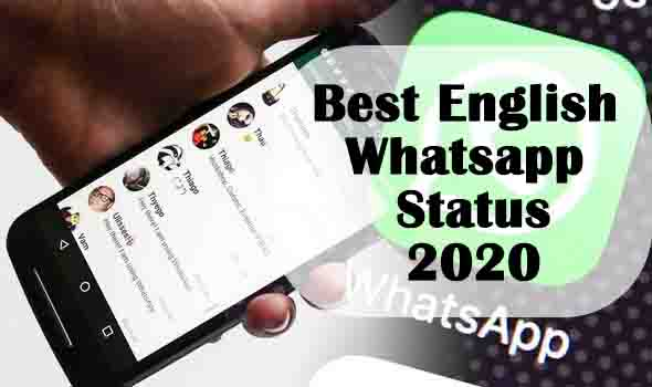 Best English whatsapp status